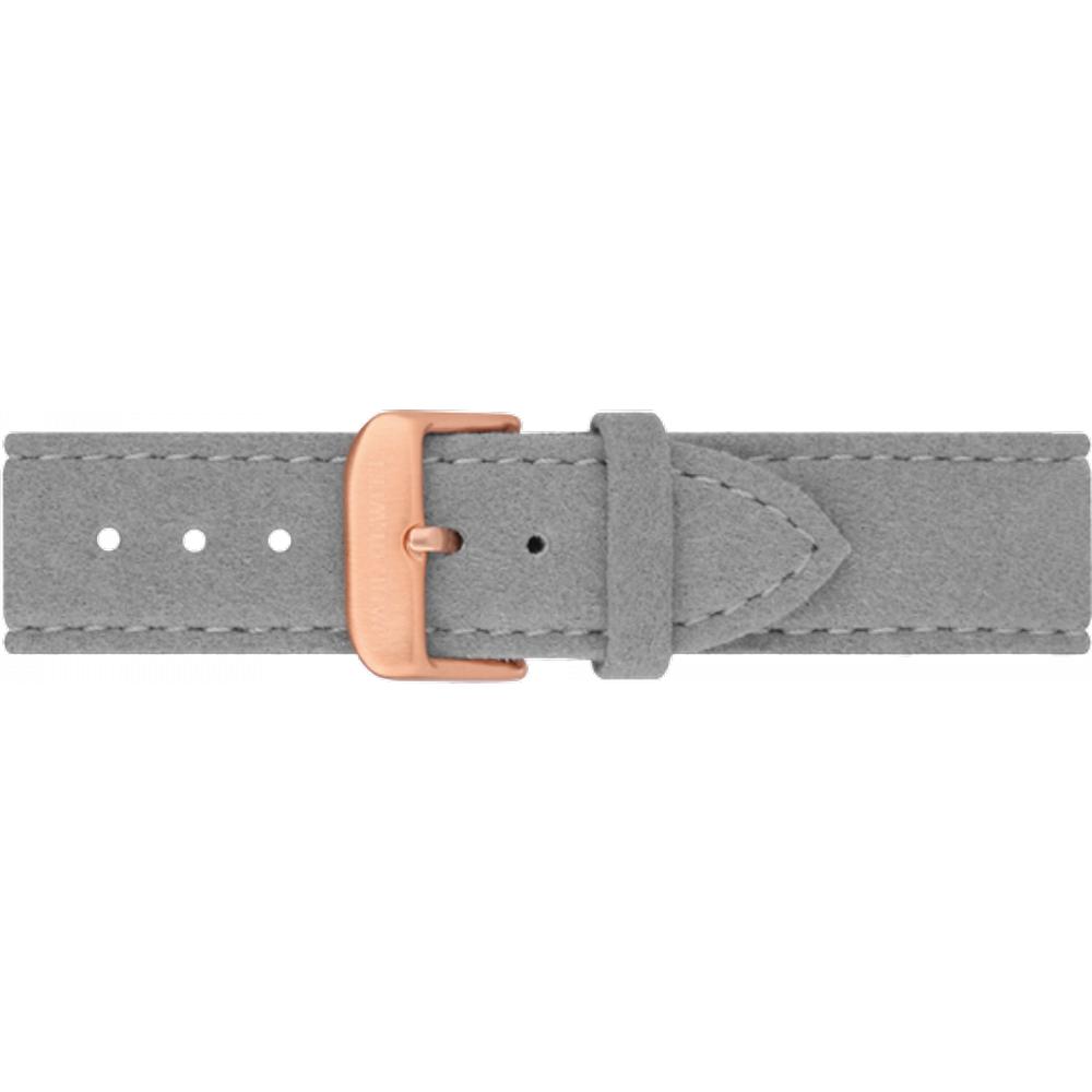 Bracelet de Montre Alcantara Or Gris 20 mm - PAUL HEWITT - Modalova