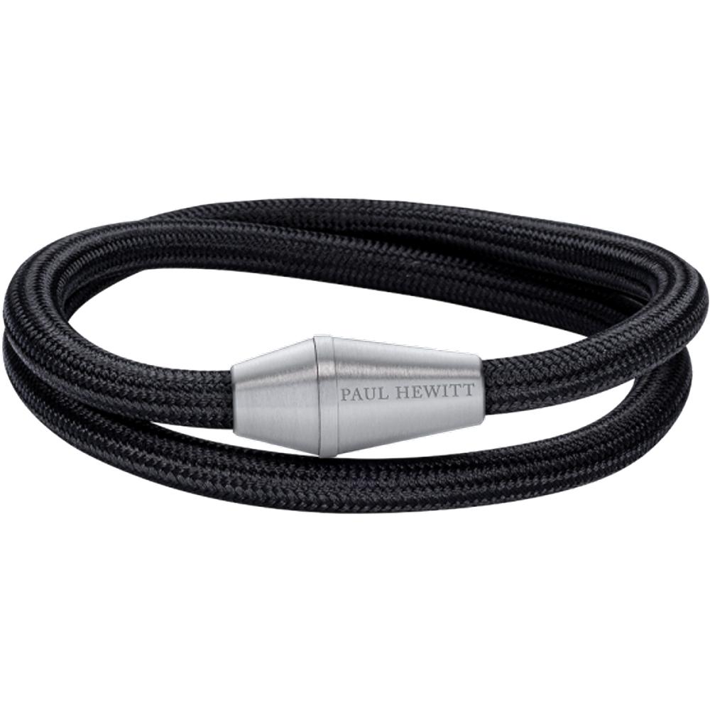 Bracelet Conic Wrap Argenté Nylon - PAUL HEWITT - Modalova