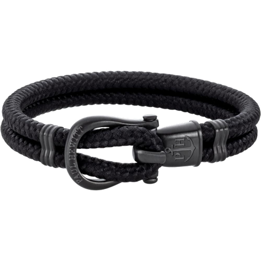 Bracelet Phinity Noir Nylon Noir - PAUL HEWITT - Modalova