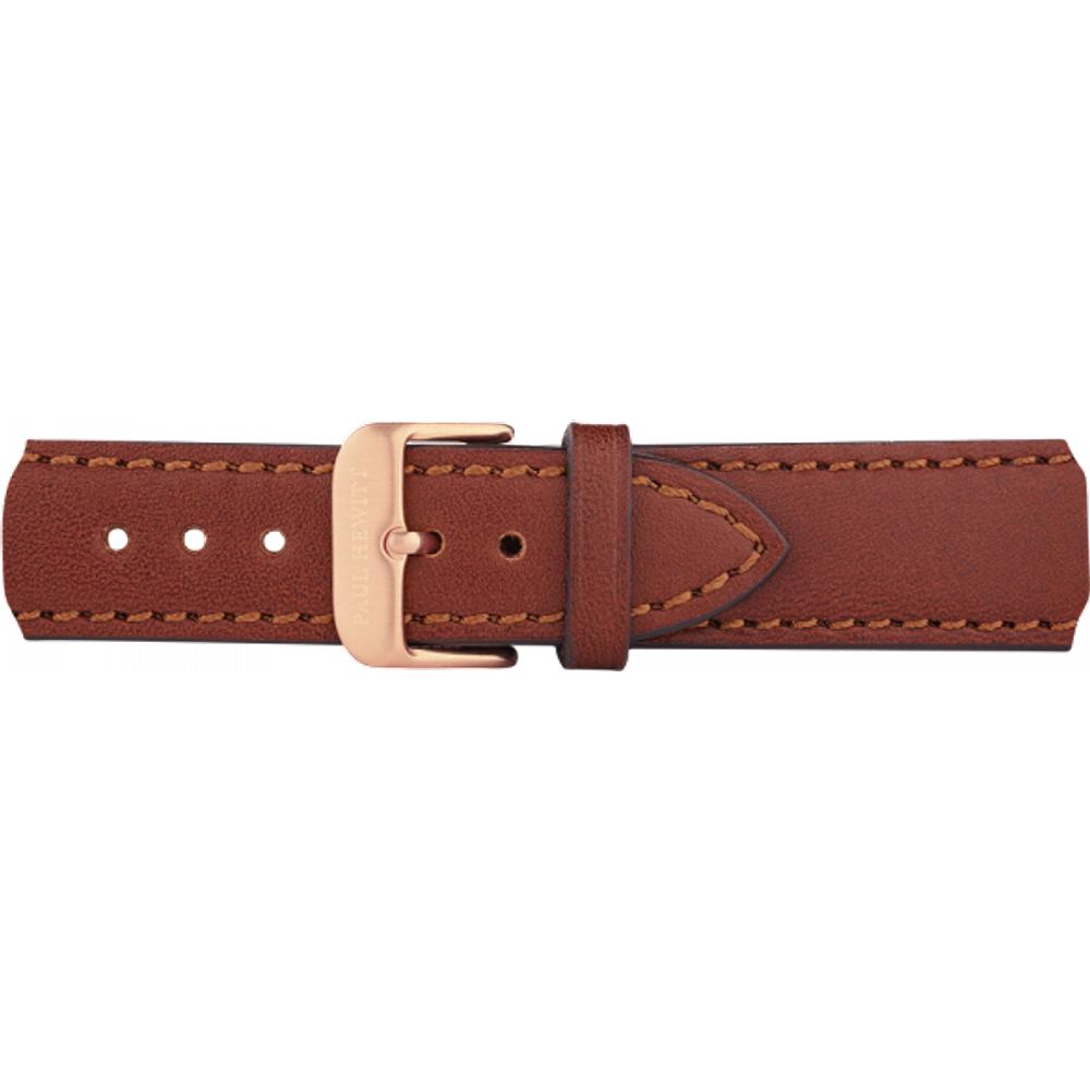 Bracelet de Montre Cuir Or Marron 20 mm - PAUL HEWITT - Modalova