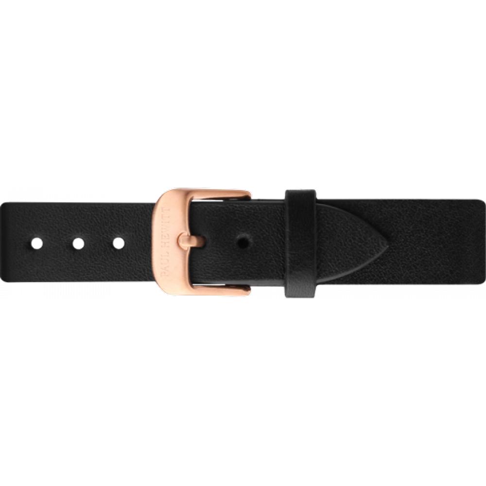 Bracelet de Montre Cuir Or Noir 16 mm - PAUL HEWITT - Modalova