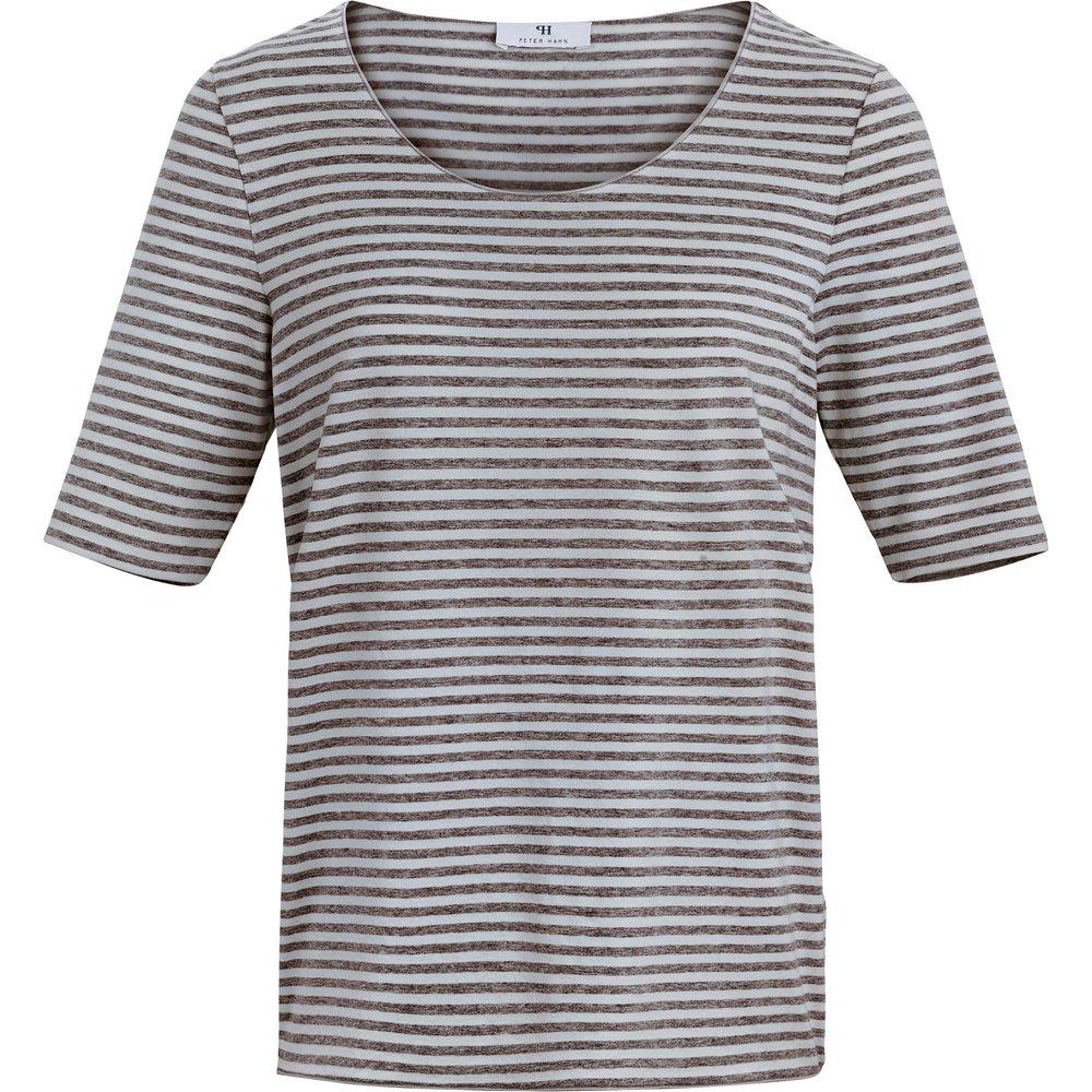 Le T-shirt rayé manches courtes taille 38 - Peter Hahn - Modalova