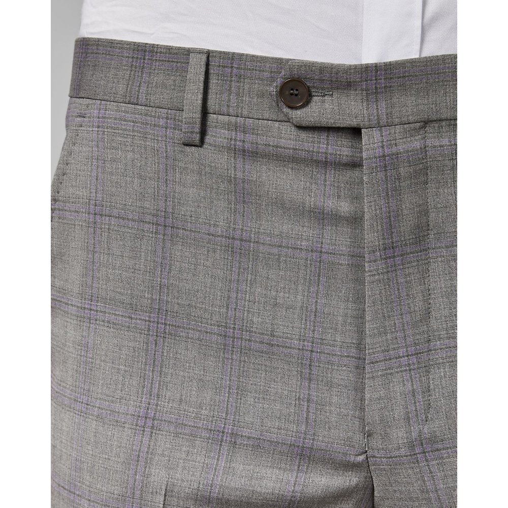 Pantalon En Laine À Carreaux Debonair - Ted Baker - Modalova