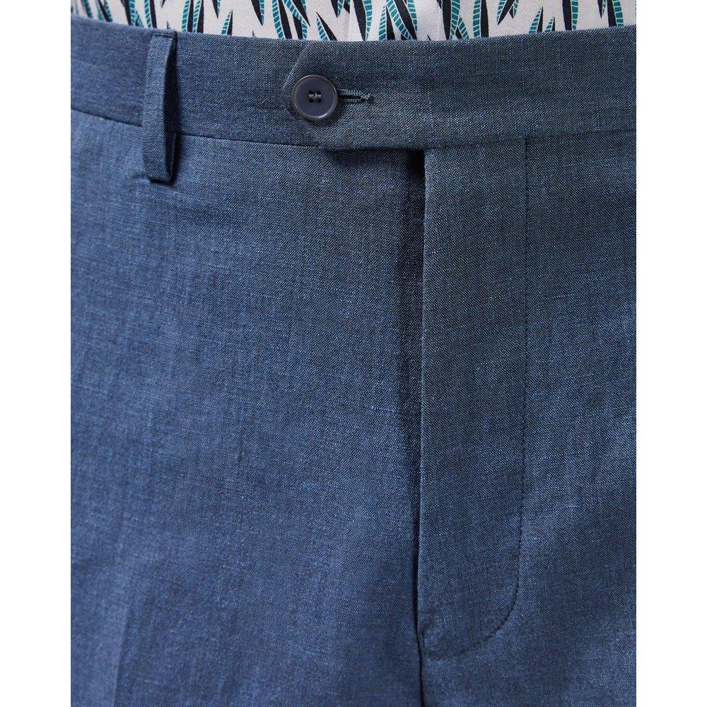 Pantalon En Laine Coupe Slim Debonair - Ted Baker - Modalova
