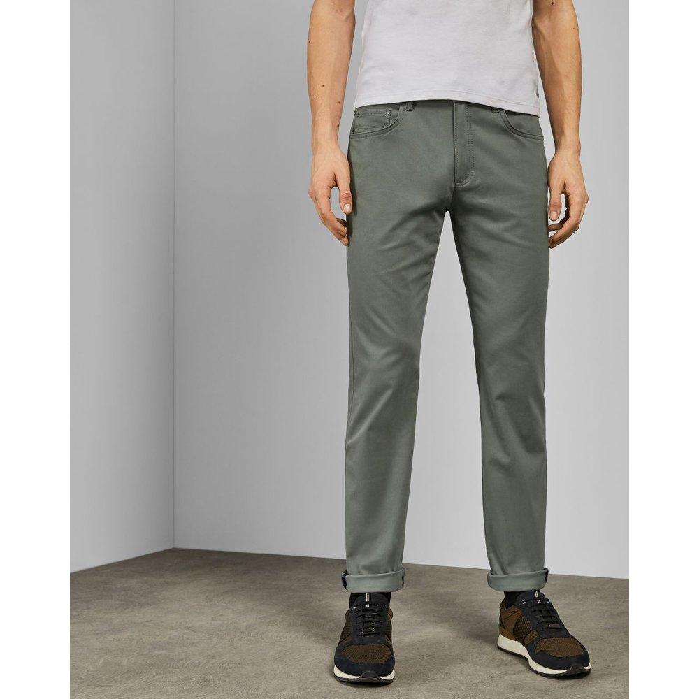 Pantalon En Coton Coupe Slim - Ted Baker - Modalova