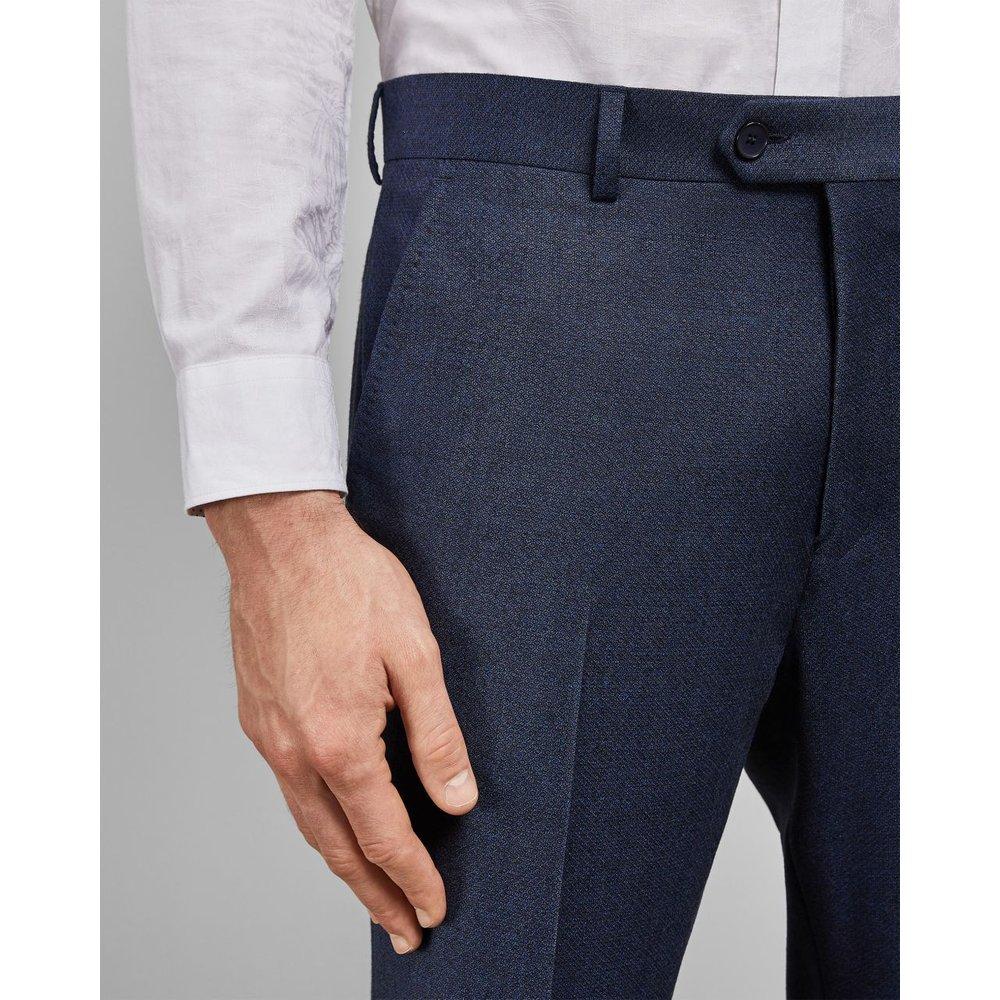 Pantalon En Laine À Imprimé Discret - Ted Baker - Modalova