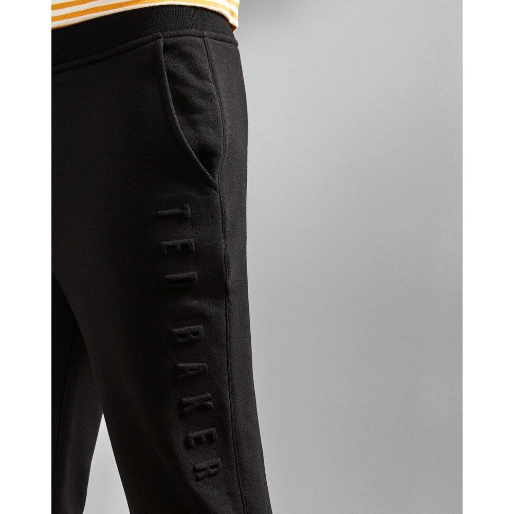 Pantalon Griffé En Jersey Et Coton Mélangés - Ted Baker - Modalova