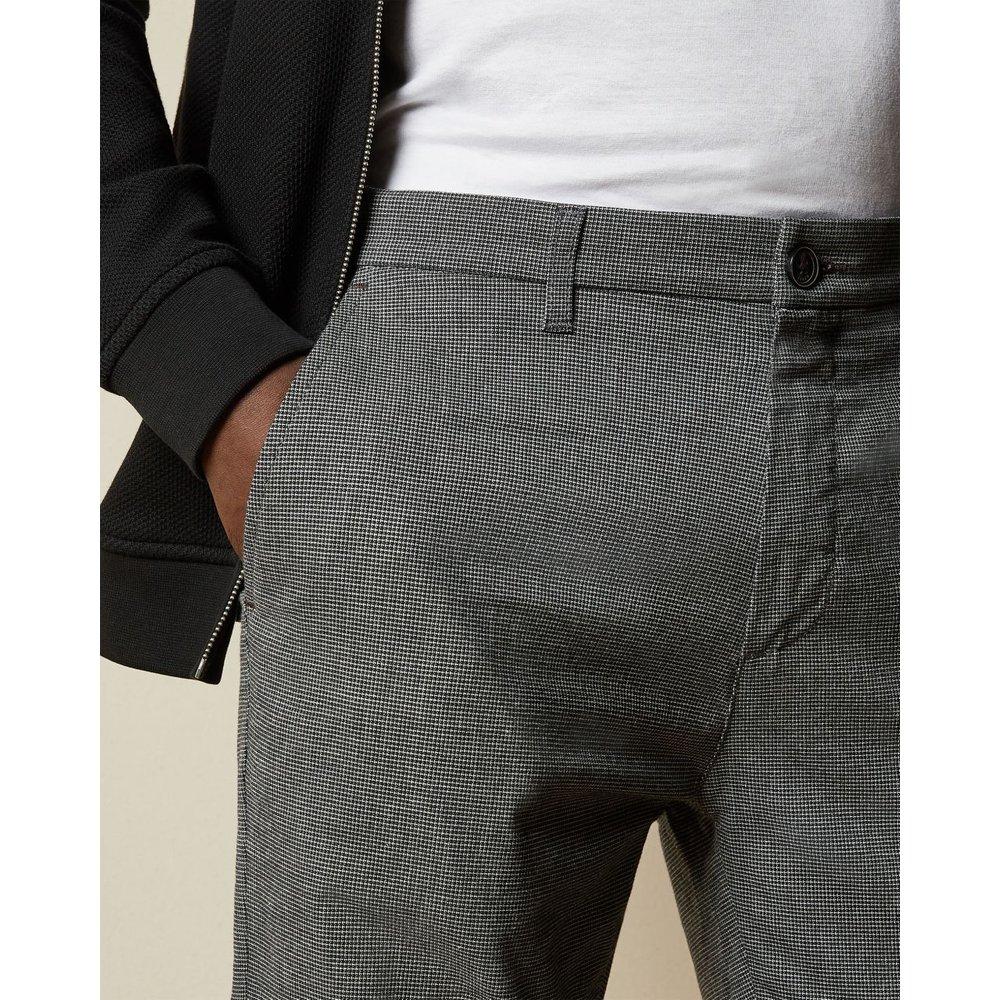 Pantalon Texturé Coupe Slim - Ted Baker - Modalova