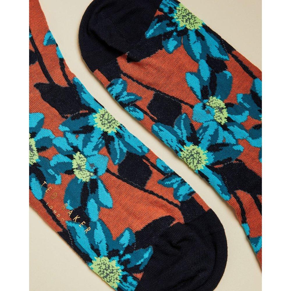 Chaussettes Avec Imprimé Fleuri - Ted Baker - Modalova