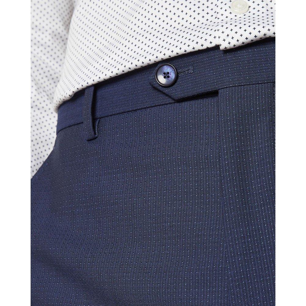 Pantalon De Costume En Laine Texturé Debonair - Ted Baker - Modalova