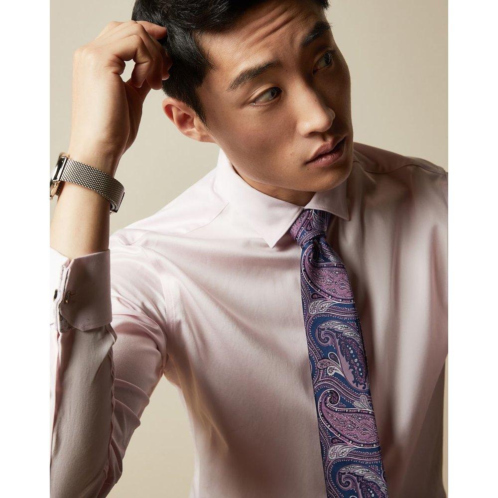 Cravate En Soie Imprimé Cachemire - Ted Baker - Modalova