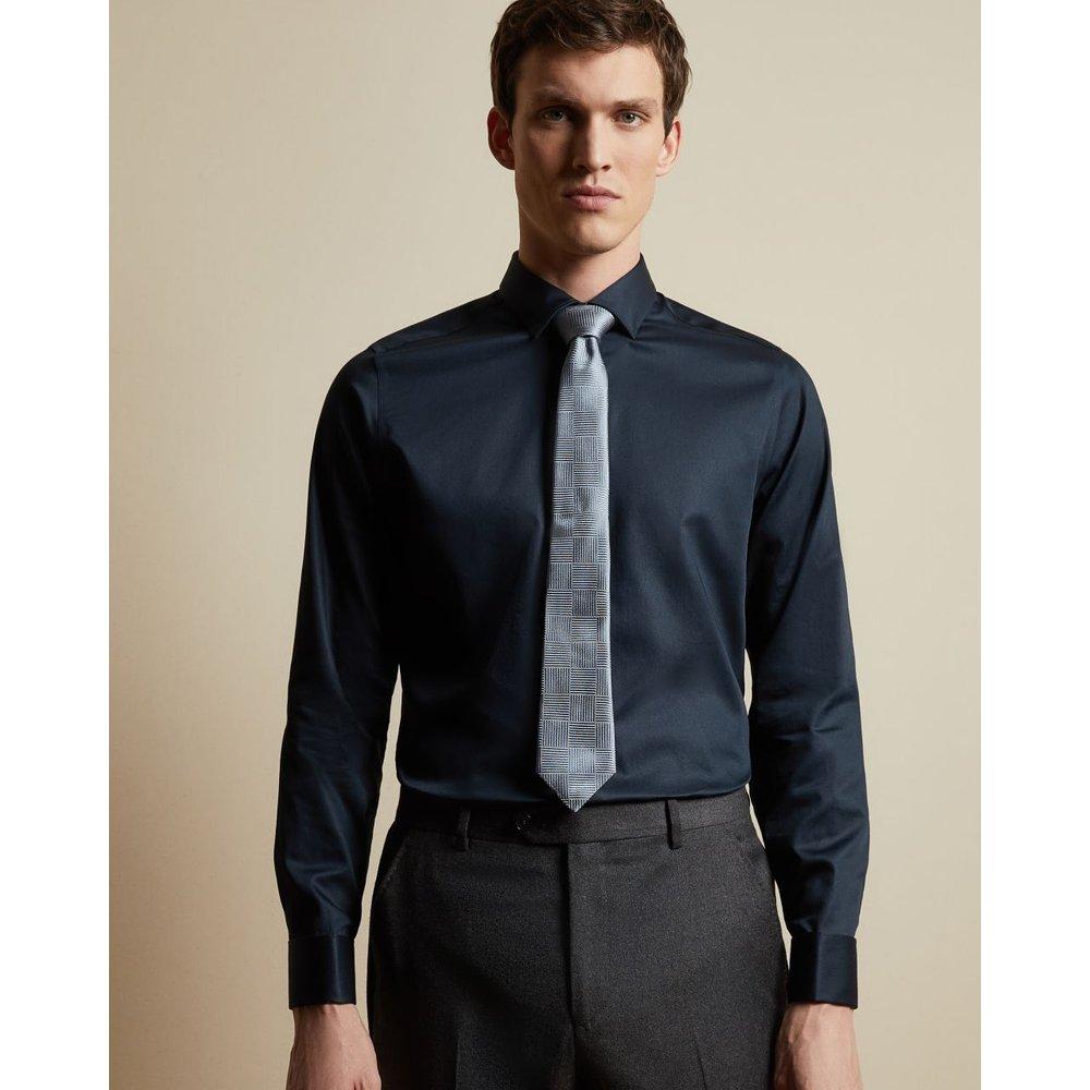 Cravate En Soie Imprimé Géométrique - Ted Baker - Modalova