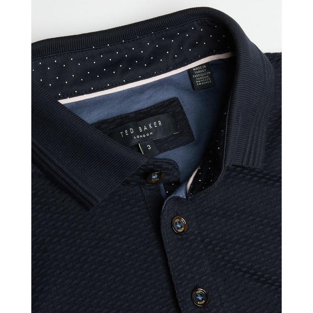 Polo En Coton Texturé - Ted Baker - Modalova