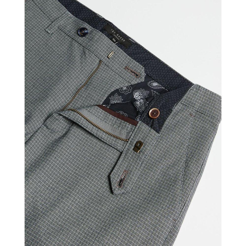 Pantalon Slim À Carreaux - Ted Baker - Modalova