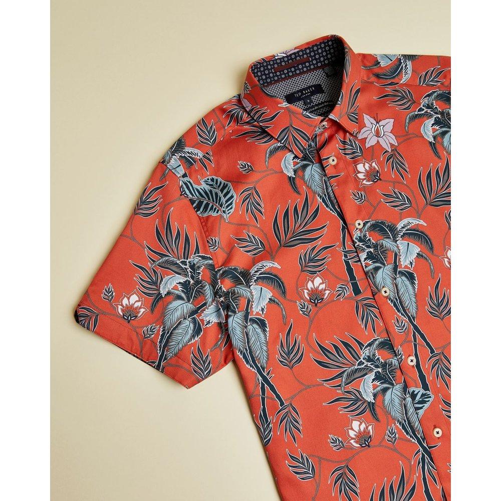 Cotton Floral Shirt - Ted Baker - Modalova