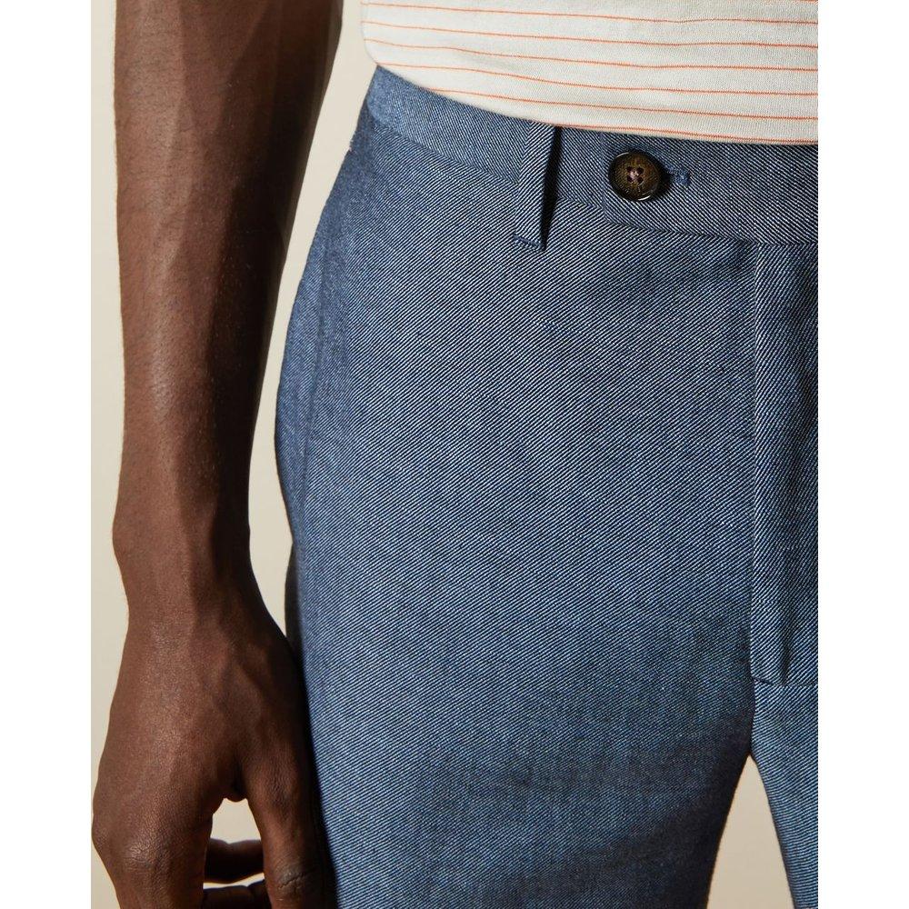 Pantalon Mélange De Lin - Ted Baker - Modalova