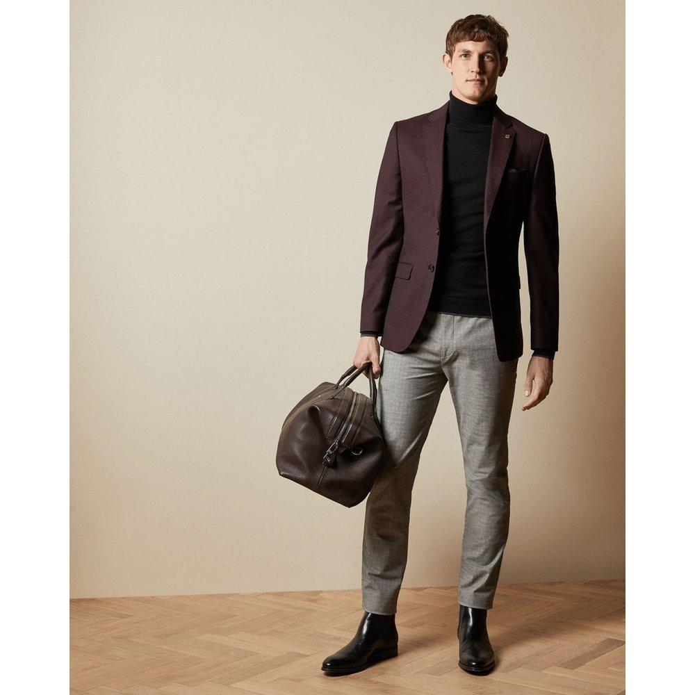 Pantalon En Coton À Carreaux - Ted Baker - Modalova