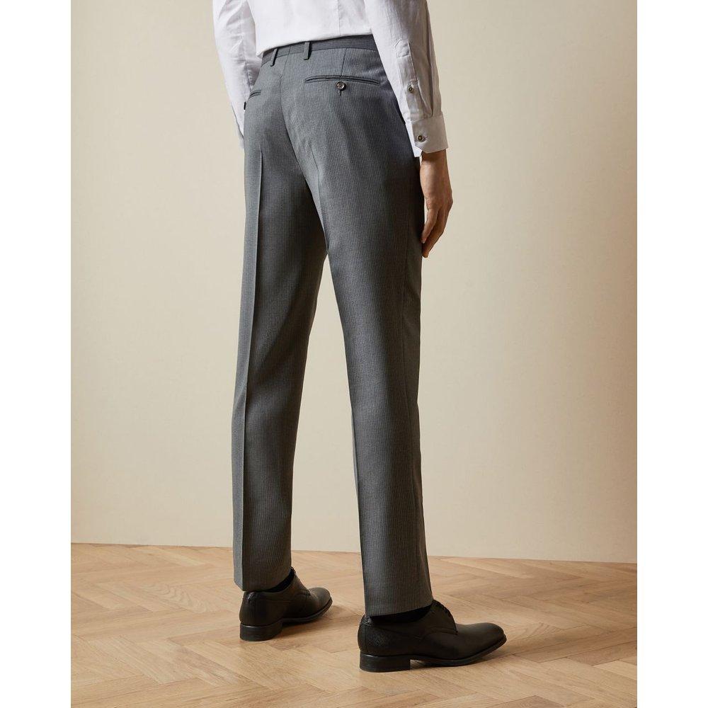 Pantalon De Costume En Laine À Rayures - Ted Baker - Modalova