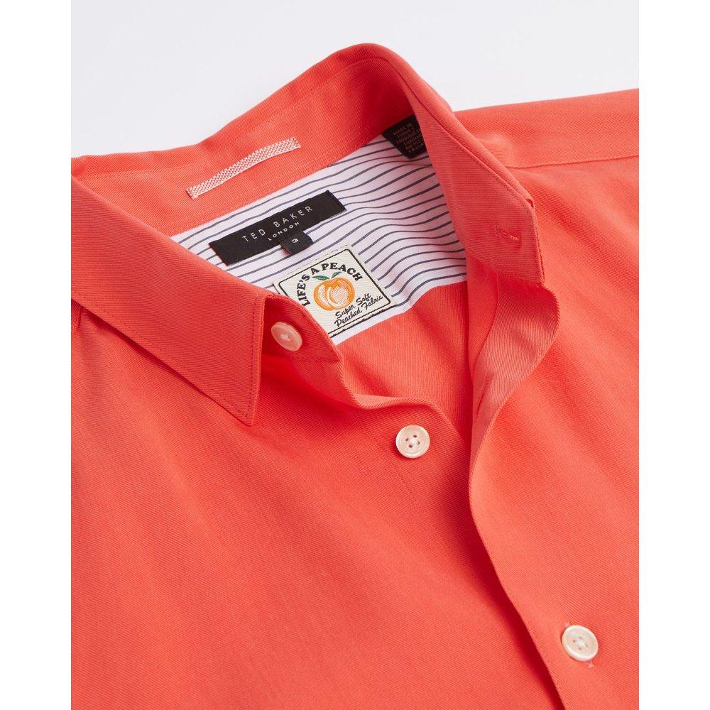 Lyocell Soft Plain Shirt - Ted Baker - Modalova