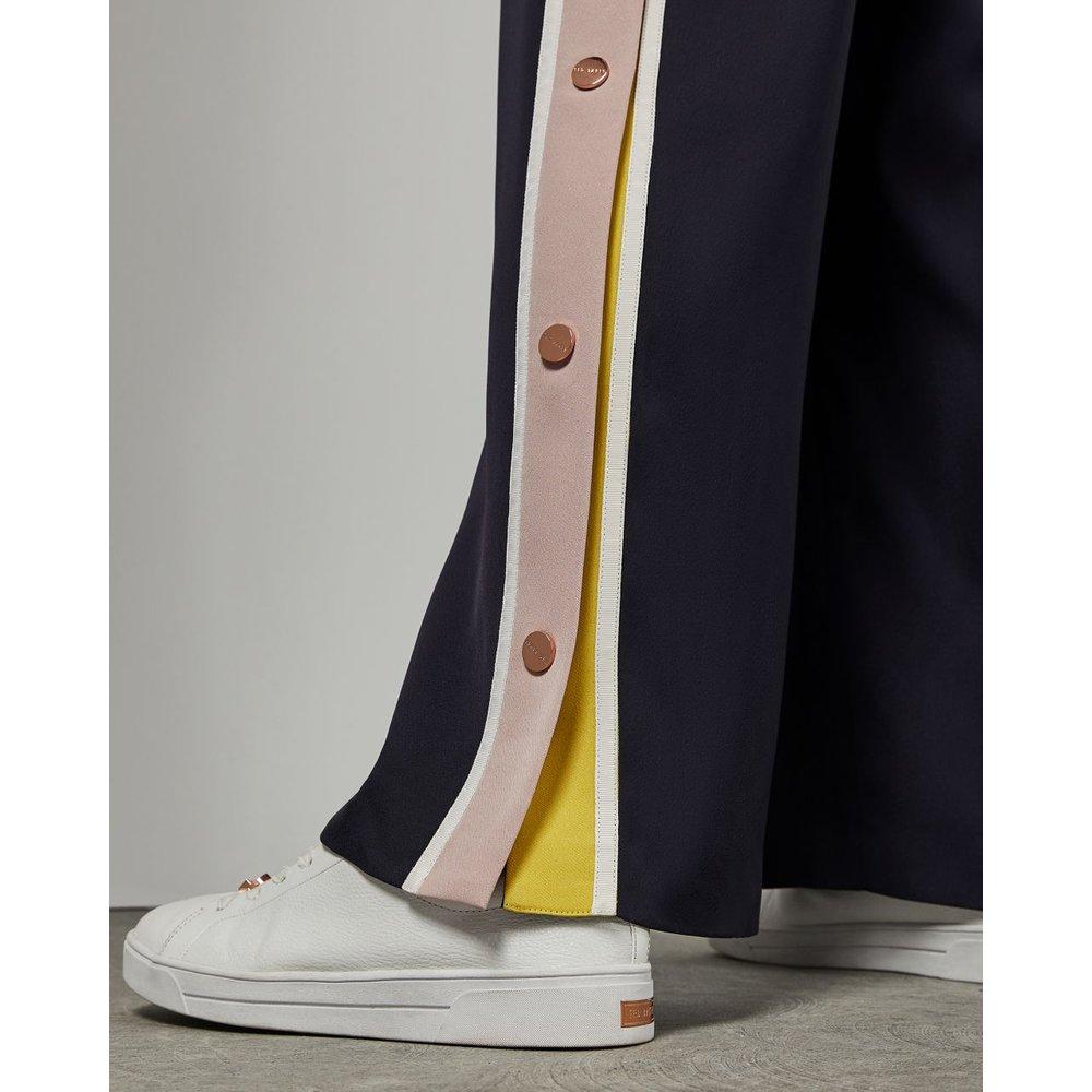 Pantalon Large Avec Boutons-pression - Ted Baker - Modalova