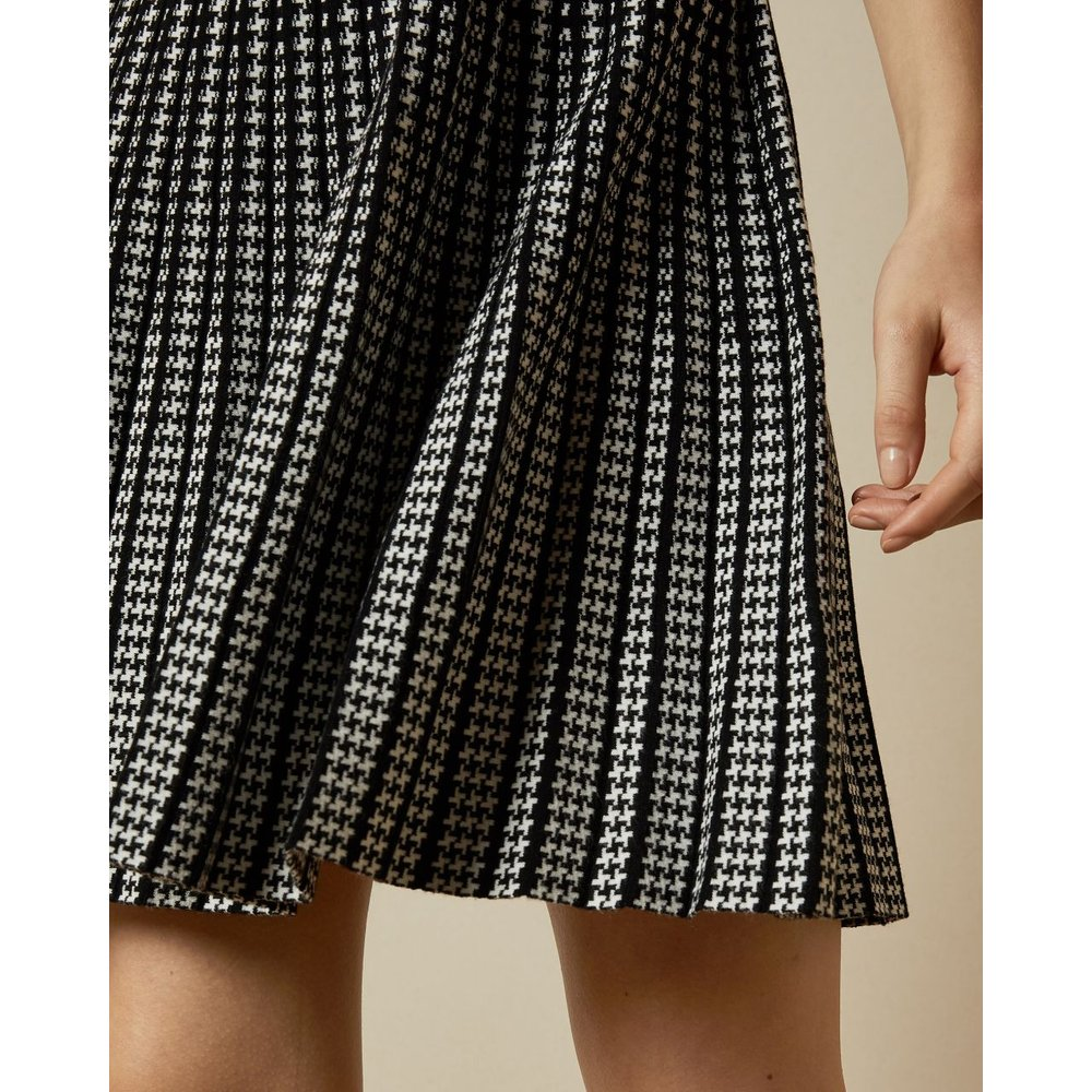 Robe Patineuse En Maille À Manches Courtes - Ted Baker - Modalova