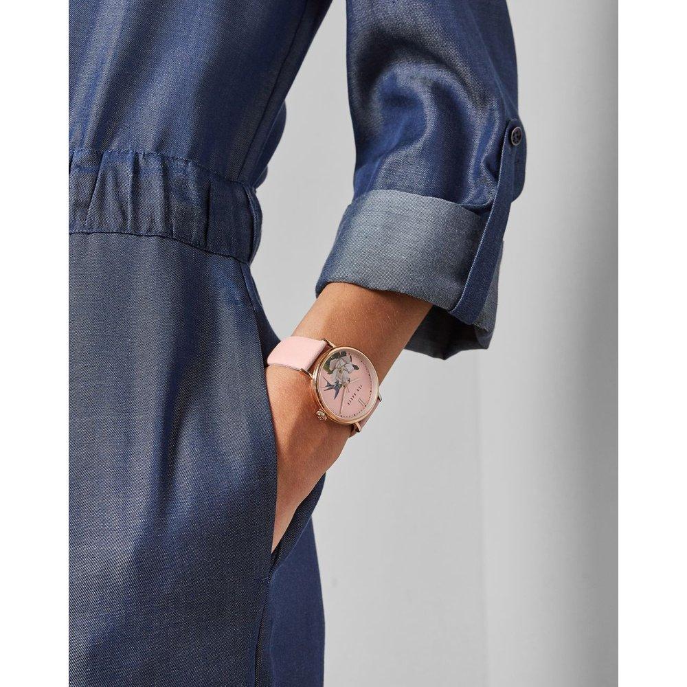 Montre Avec Bracelet En Cuir - Ted Baker - Modalova