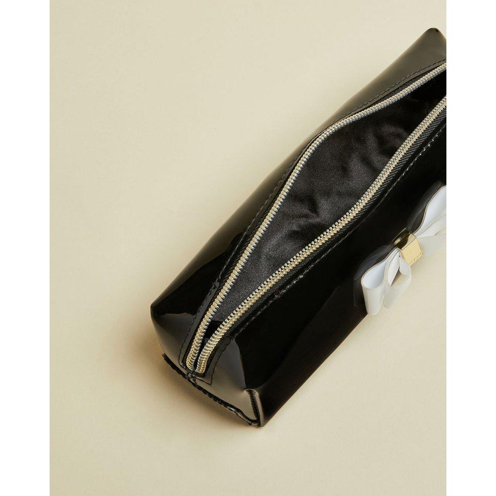 Vinyl Bow Make Upbrush Case - Ted Baker - Modalova