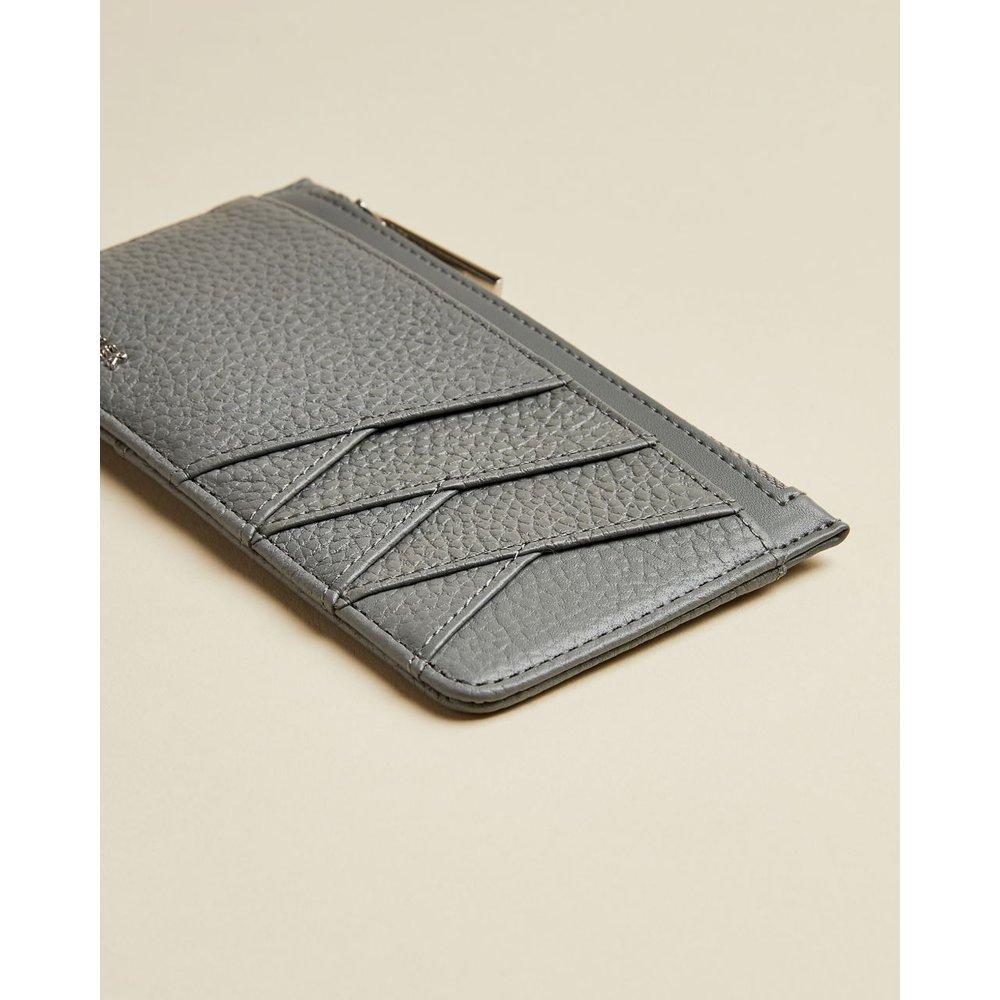 Leather Zipped Card Holder - Ted Baker - Modalova
