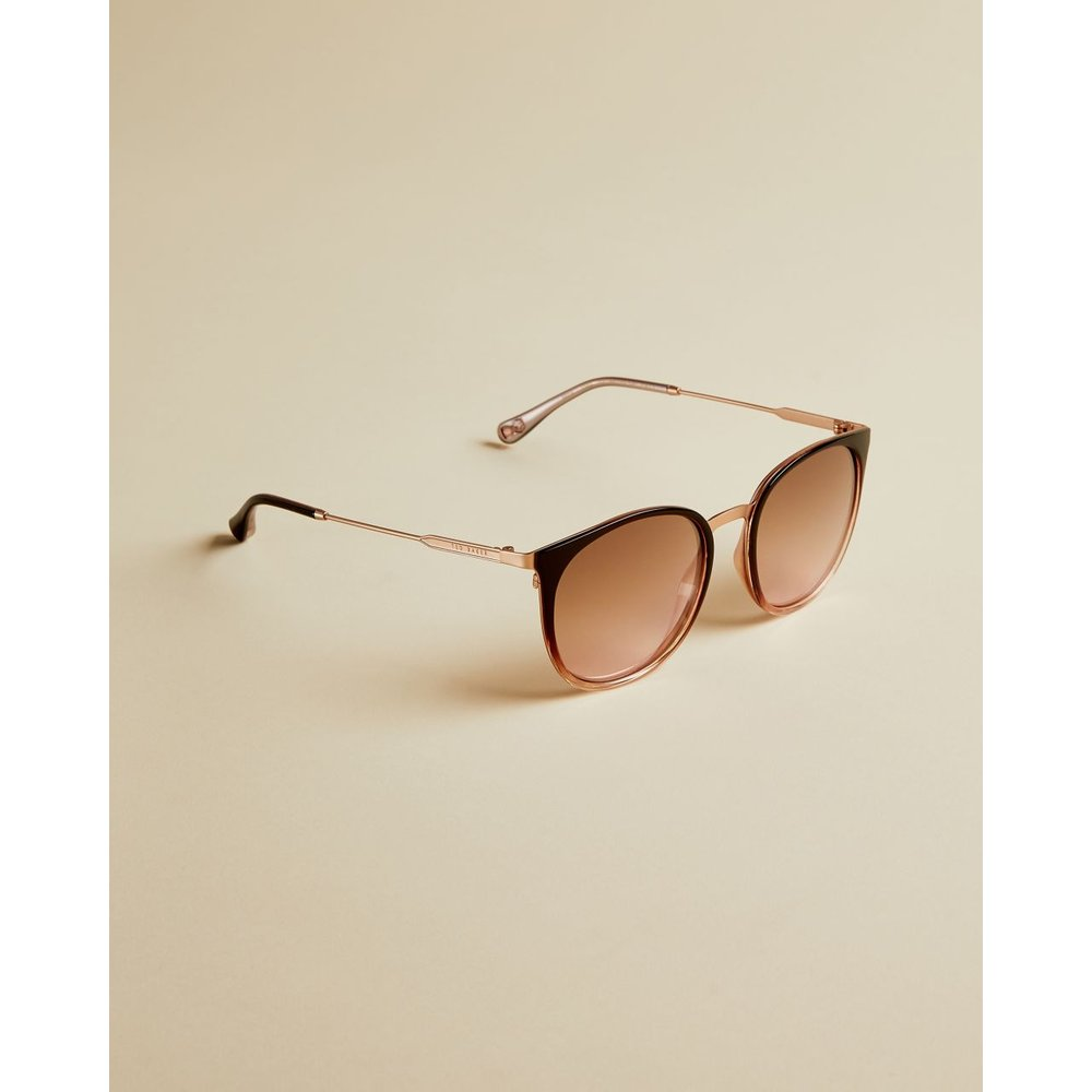 Medium Round Sunglasses - Ted Baker - Modalova