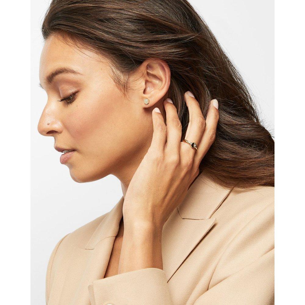 Honeycomb Swarovski® Stud Earrings - Ted Baker - Modalova