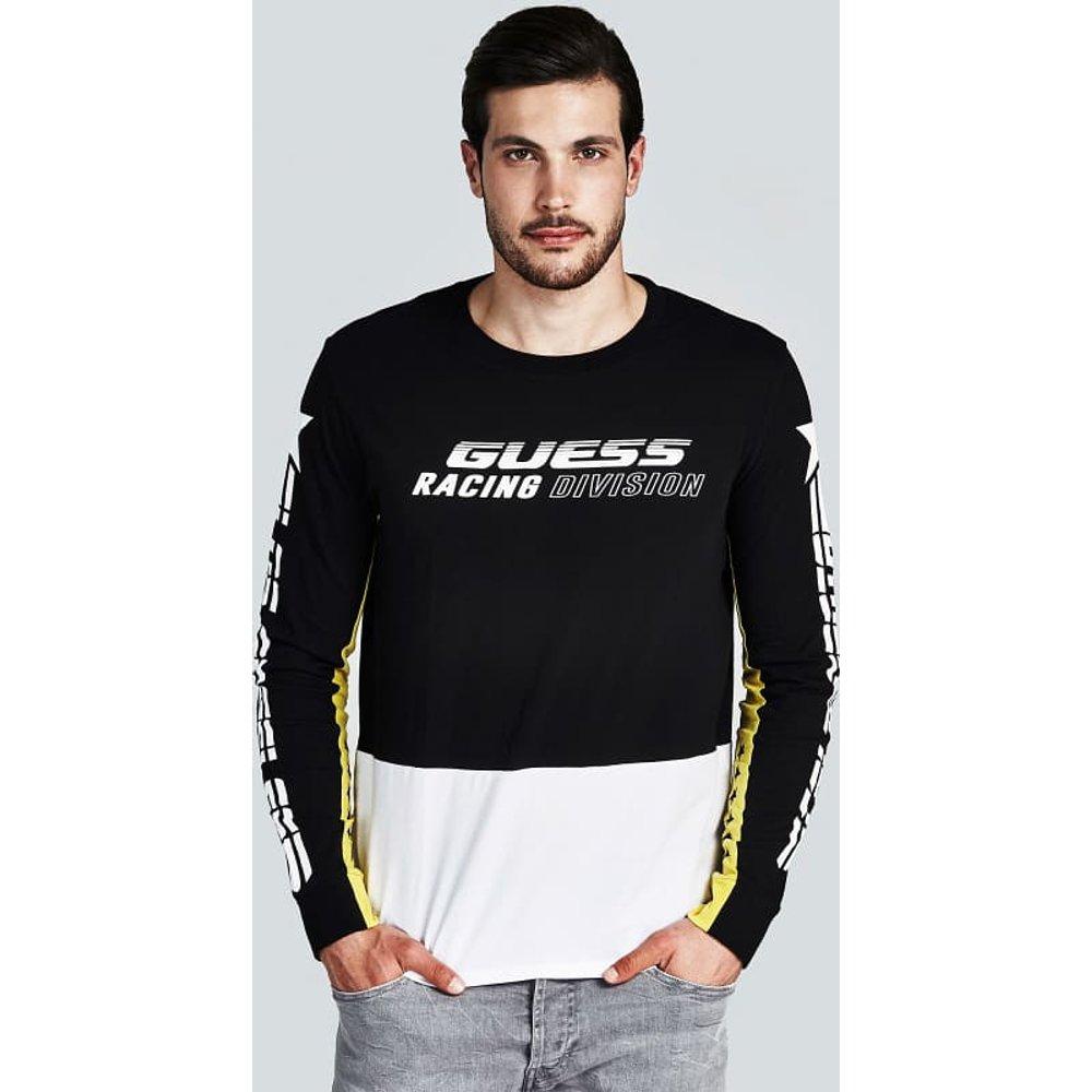T-Shirt Imprimé Manche Longue - Guess - Modalova