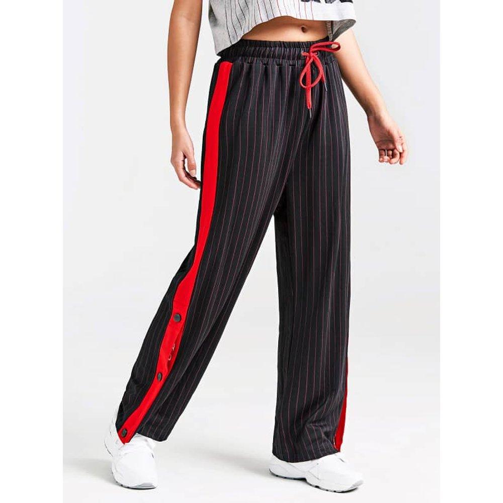 Pantalon De Survêtement Bande Logo - Guess - Modalova
