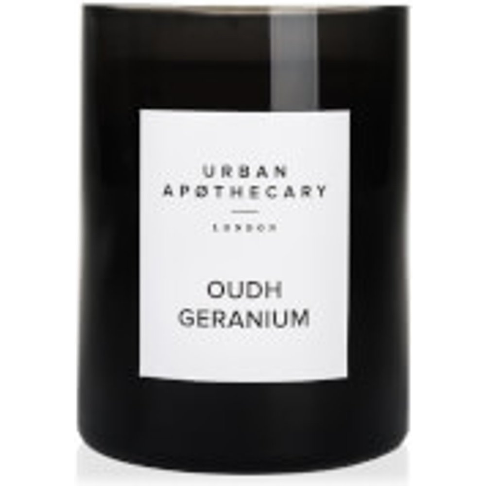 Urban Apothecary Oudh Geranium Luxury Scented Candle 300 g