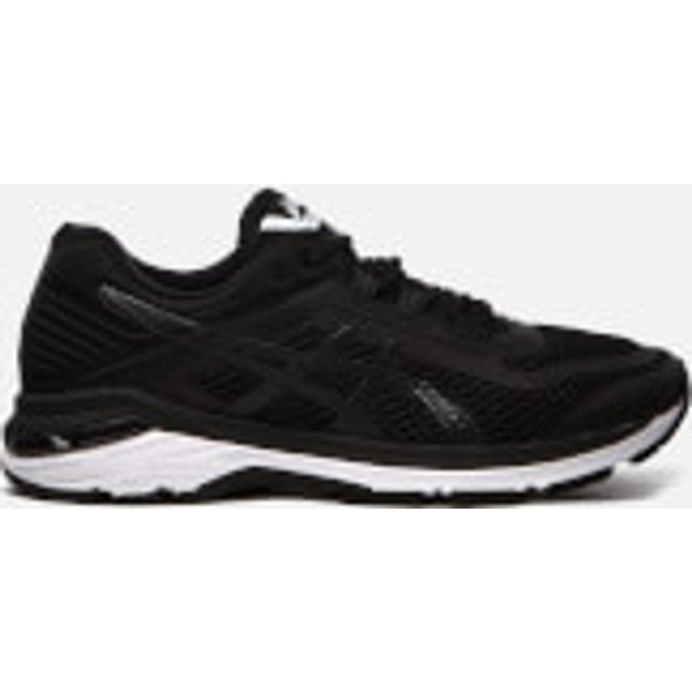 Asics Running Men's Gt-2000 6 Trainers - Black/White/Carbon - UK 8 - Black