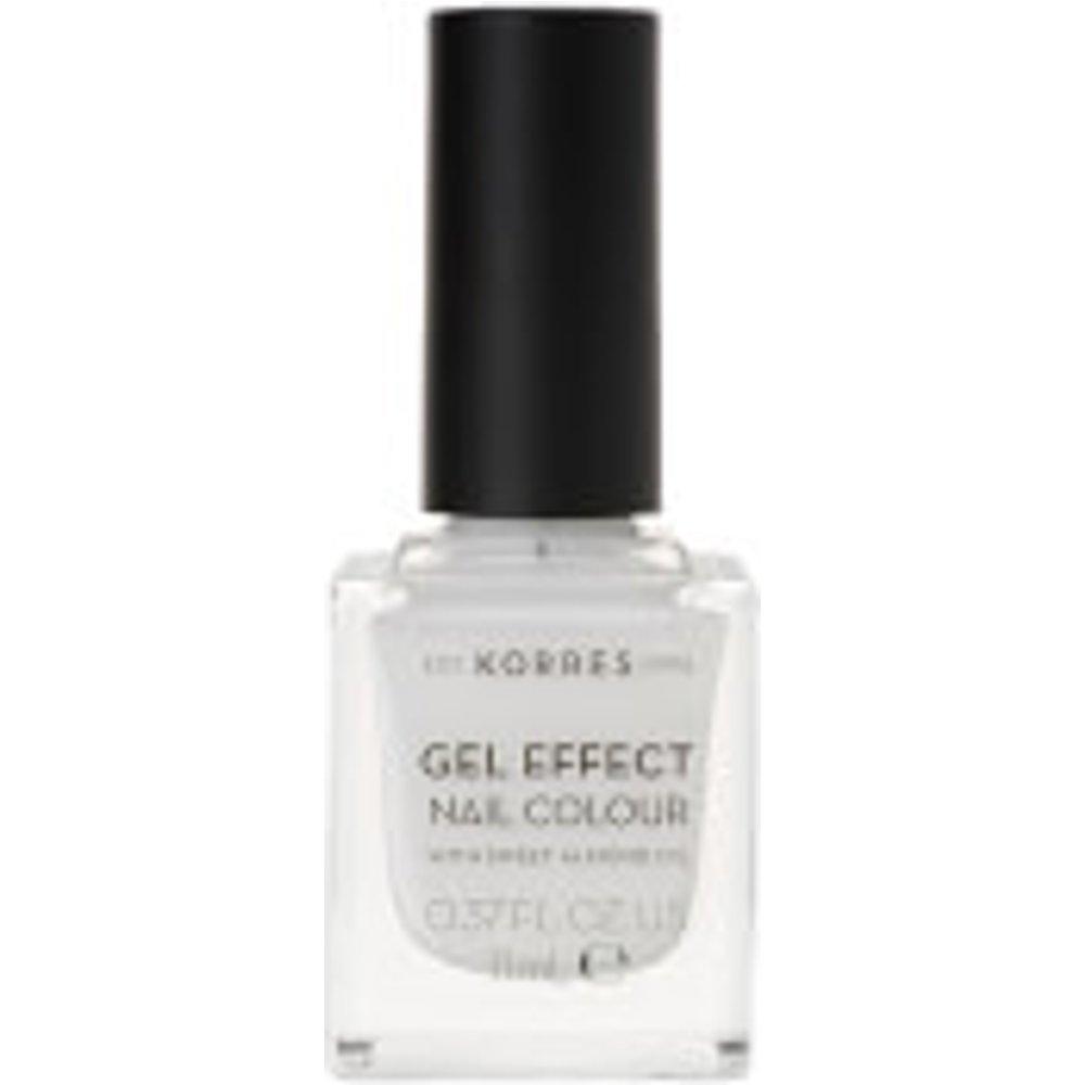 KORRES Natural Gel Effect Nail Colour - Blanc White 11ml