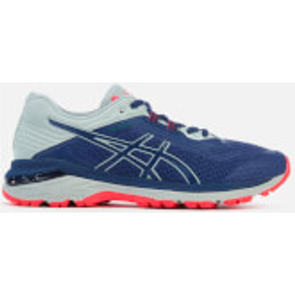 Asics Running Women's GT-2000 6 Trail Plasmaguard Trainers - Deep Ocean/Mid Grey - UK 5.5 - Blue