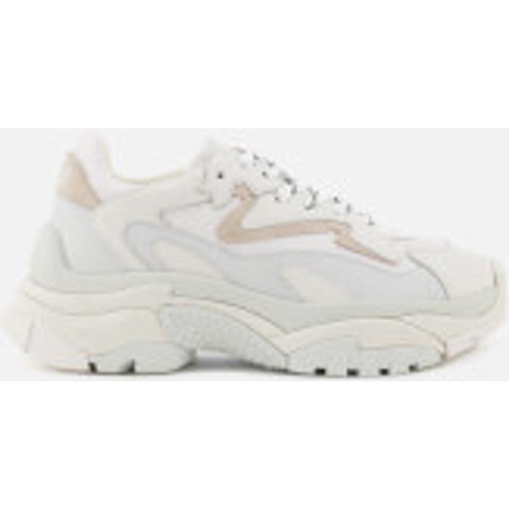 Ash Ash Women's Addict Chunky Runner Style Trainers - White/Off White - UK 5 - White