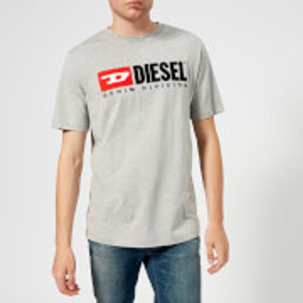 Diesel Diesel Men's Just Division T-Shirt - Grey - S - Grey