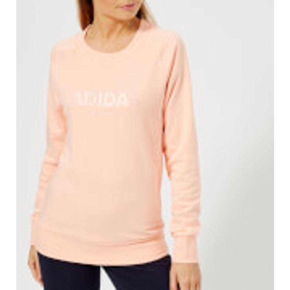 adidas Women's All Cap Sweatshirt - Haze Coral - L - Pink