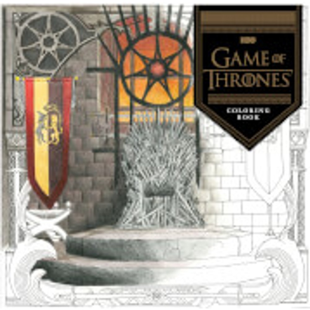 HBO's Game of Thrones Coloring Book (Paperback)