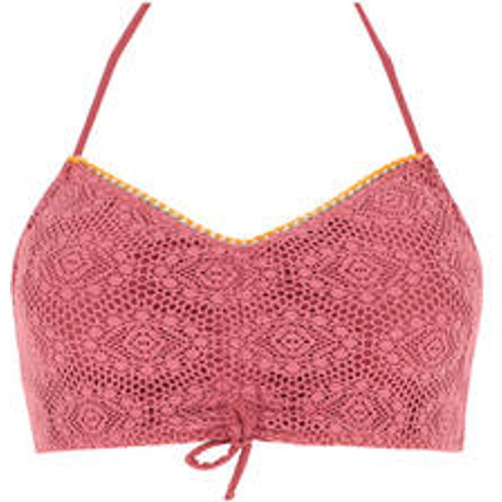 Haut de maillot de bain bandeau ajustable carillo Couture Crochet - banana moon - Modalova