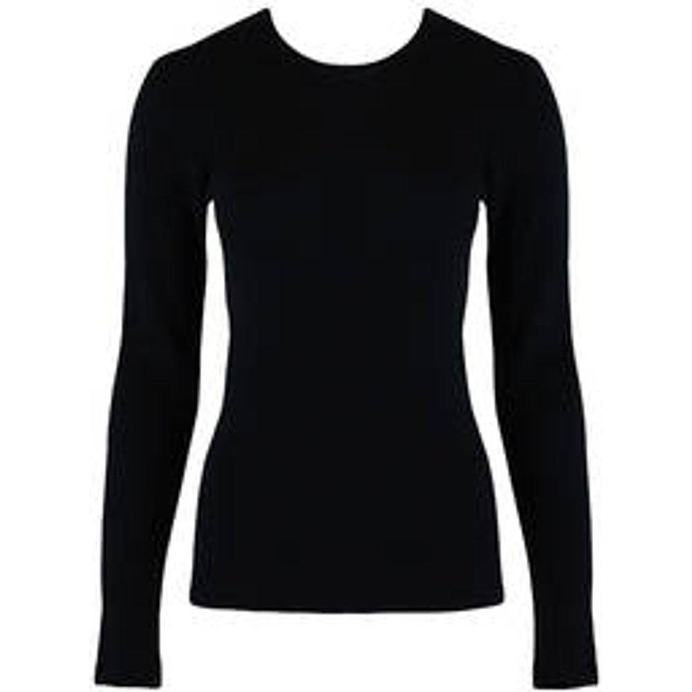 Tee-shirt manches longues en laine et soie Woolen silk - Hanro - Modalova