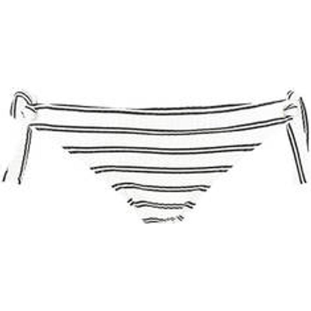 Bas de maillot de bain slip lacets Inka Stripe - Seafolly - Modalova