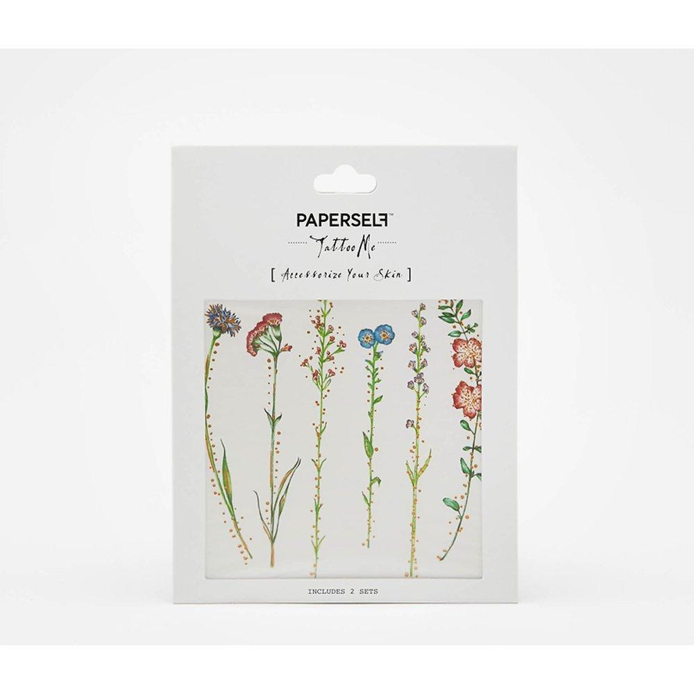 Tatouage Éphémère Fleurs Paperself - TW - Modalova
