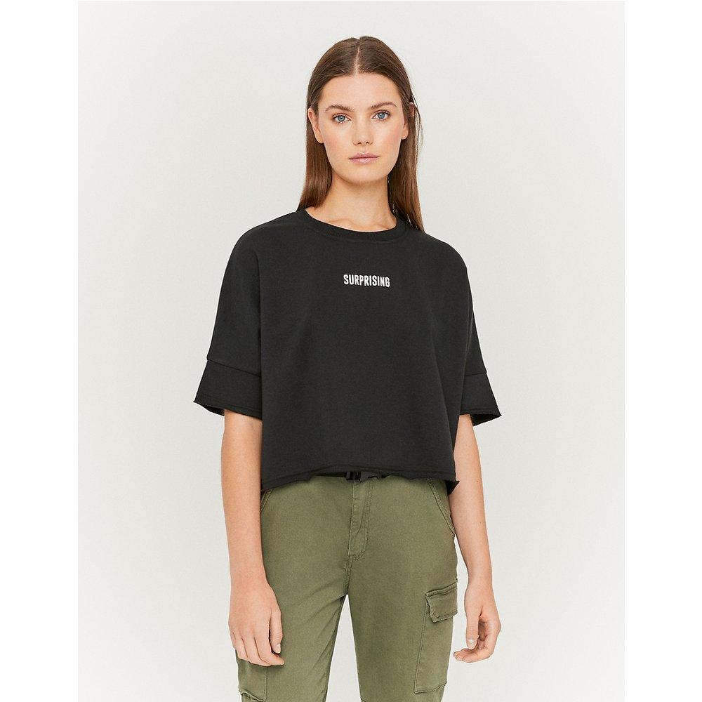 Sweat T-Shirt Court Noir - TW - Modalova