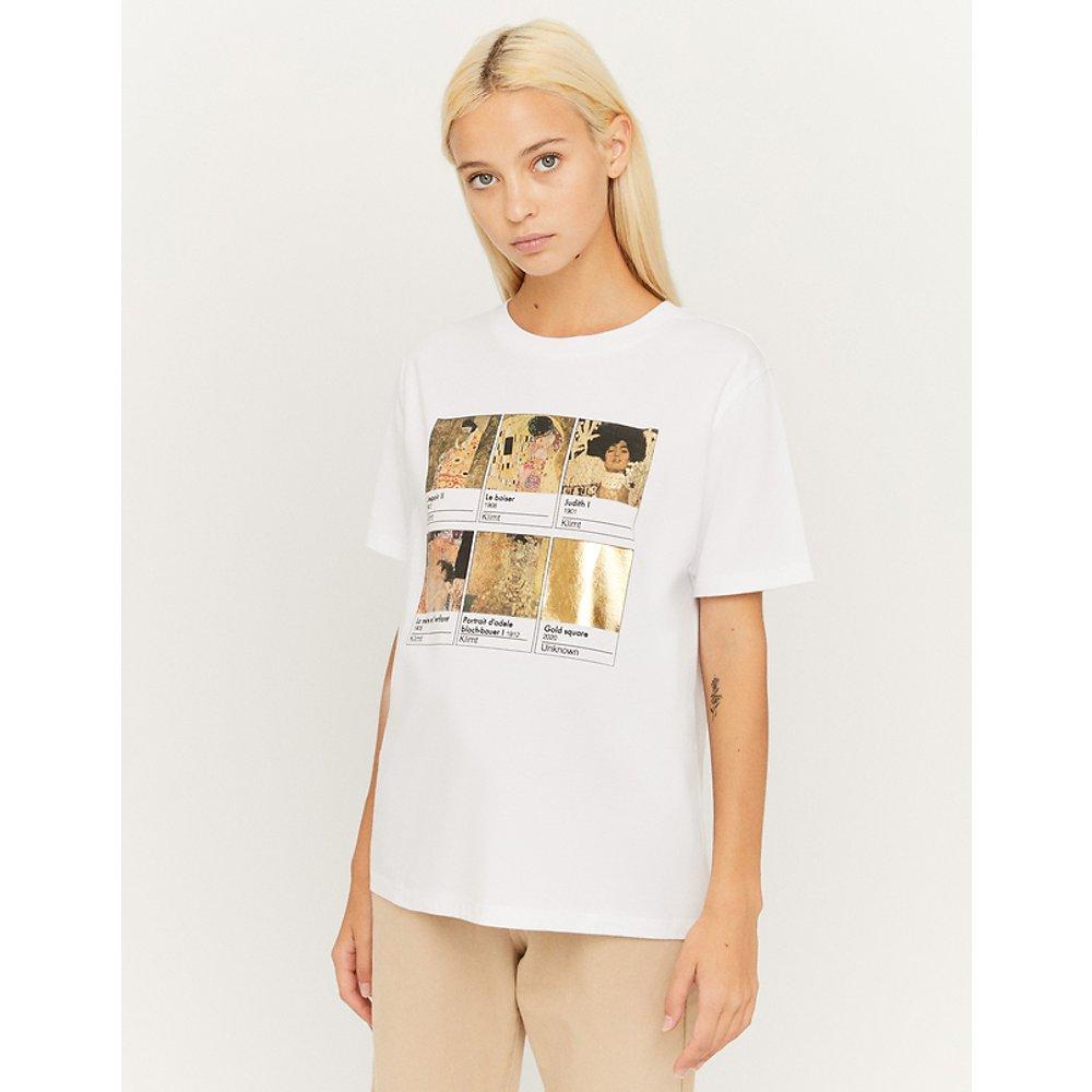 T-Shirt Blanc Imprimé - TW - Modalova