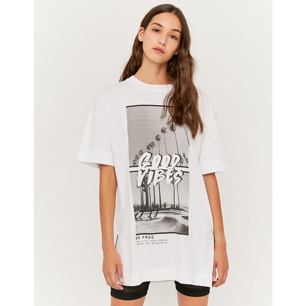 T-Shirt Long Blanc - TW - Modalova