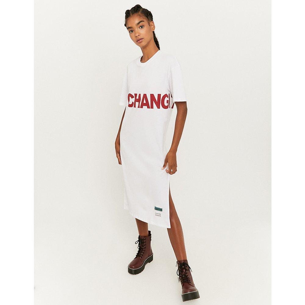 T-Shirt Imprimé Long Blanc - TW - Modalova