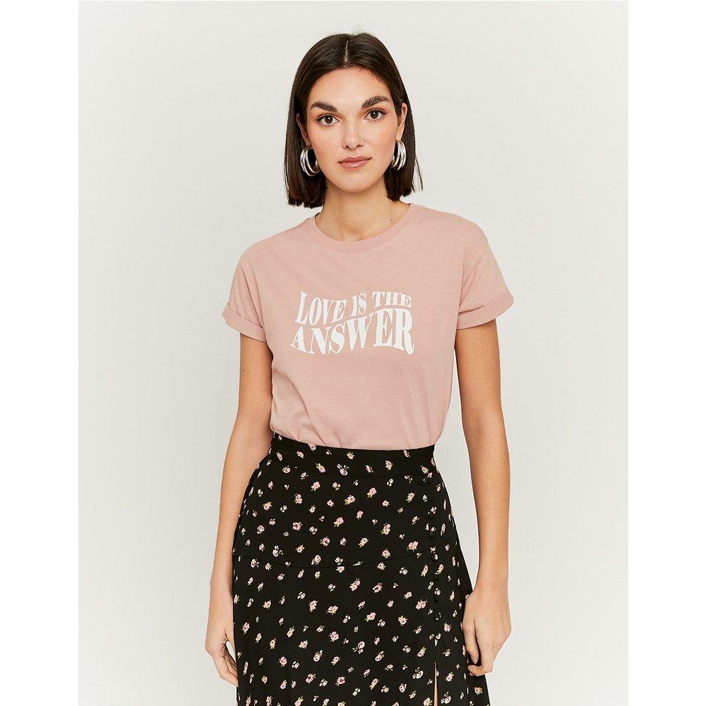 T-Shirt Rose Imprimé - TW - Modalova
