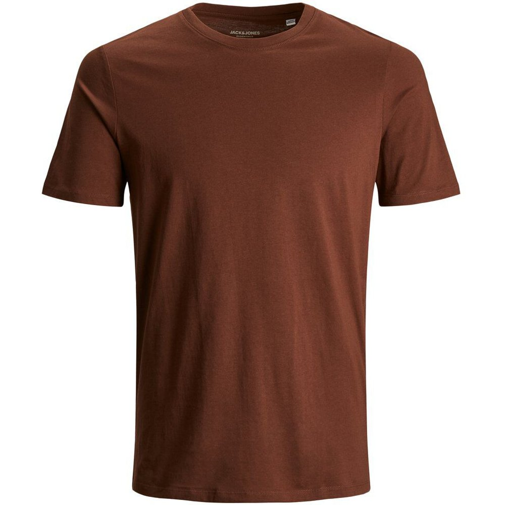 Coton Biologique T-shirt Men brown - jack & jones - Modalova